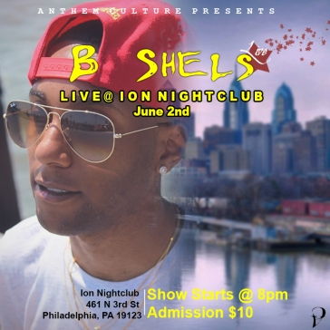 B Shels x Club Ion Flyer