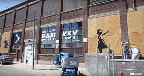 The Art of Banksy Exhibit Opens in Toronto, But the Artist is Nowhere to beSeen