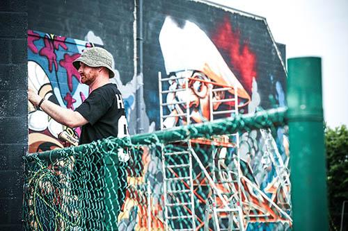 International Graffiti Jam in Maaseik,Belgium