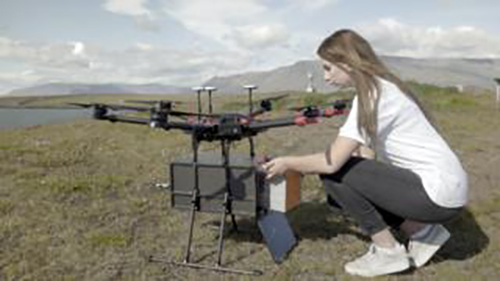 Iceland Expands Food Delivery by Drone in Reykjavik