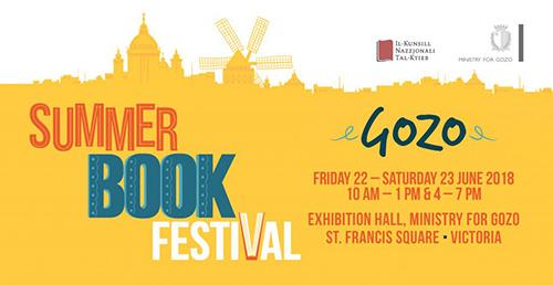Summer Book Festival in Gozo,2018