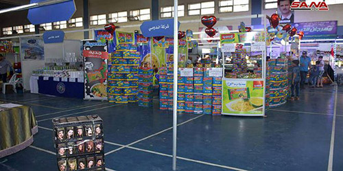 "125 Companies Participate In Monthly Shopping Festival ""Made In Syria"" In Aleppo"
