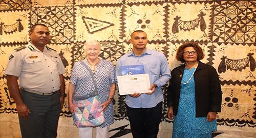 Fijian Inmate Wins ArtCompetition