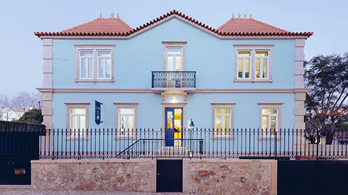 Portuguese Family Home Turned Into Brightly-Hued Hostel