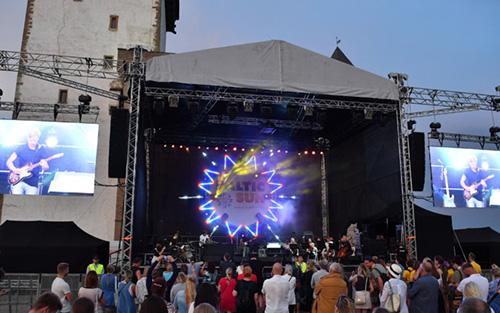 Baltic Sun Music Festival Underway inNarva