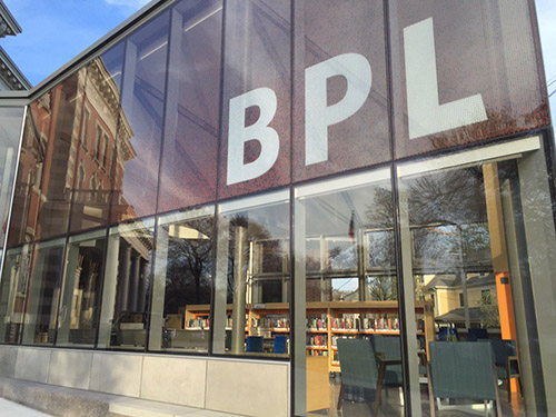 JP Branch Library Wins Boston Preservation Alliance Achievement Award