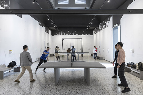 Romania Pavilion Sets A Real Playground To Remind Free Use Of Public Spaces At Venice Biennale