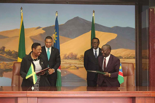 Namibia Wants To Learn From Jamaica's SportsSector