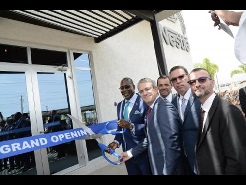 Nestle Opens State-Of-The-Art Corporate Office inJamaica