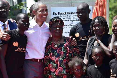 Obama Visits Kenyan Home To Launch YouthCentre