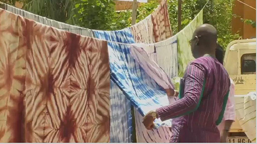 Burkinabe Fashion Designer Revives Traditional Koko DundaFabric
