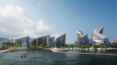 Zaha Hadid Architects Wins Competition for Russian Black Sea CityMasterplan