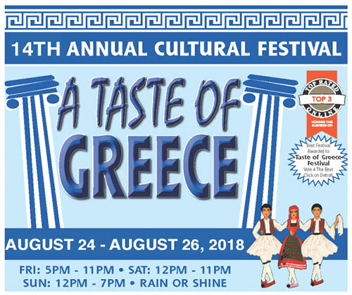 Get a Taste of Greek Culture at Plymouth Church's Annual Festival