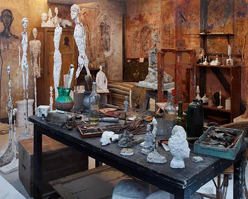 Swiss Artist Giacometti's Studio Brought to Life in Art Deco ParisMansion
