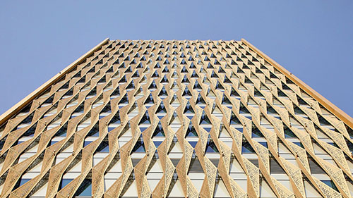 Twin Towers In Kuwait City Reference Vernacular Arabic Architecture