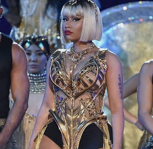 Nicki Minaj Wears Croatian Creation at 2018 MTV Video Music Awards