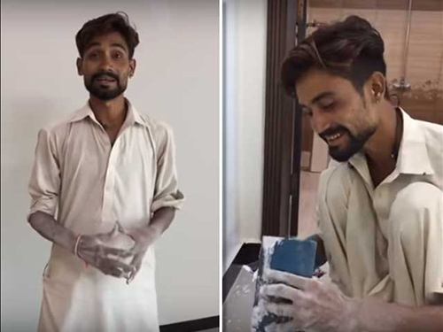 Here's Why This Pakistani House Painter's Music Video Is Going Viral